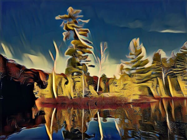 Island Spirits Of Lac Rheaume Art | Maciek Peter Kozlowski Art