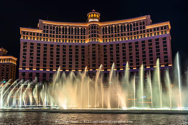 The Fountains at Bellagio - Las Vegas Wall Murals | William Drew