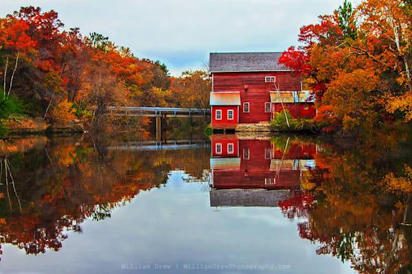 Dells Mill Reflection - Scenic Landscape Wall Murals