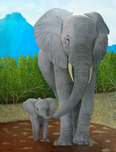 Elephants Art | Frank Trozzo