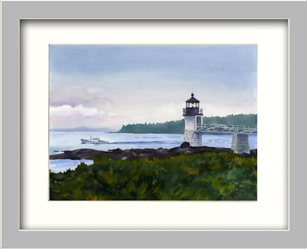 Marshall Point Morning Art | Machalarts Watercolor Studio