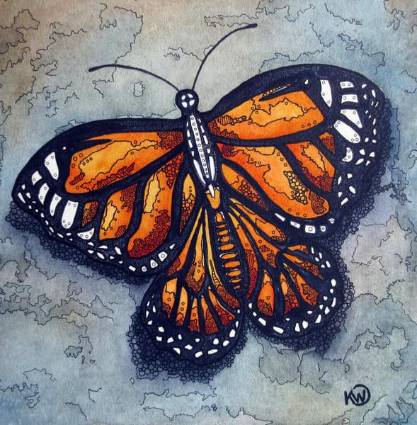Monarch Art | Water+Ink Studios