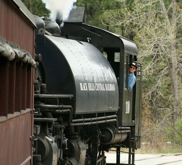 Black Hills Central Railroad 2 Art | DocSaundersPhotography