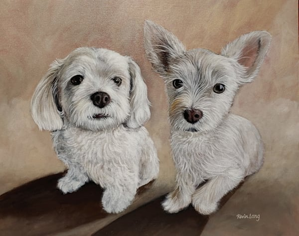 Louie And Lou Lou | Kevin Lang Fine Art