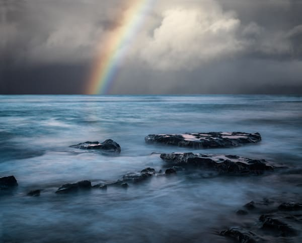 Rainbow In Maui Photography Art | Dan Katz, Inc.