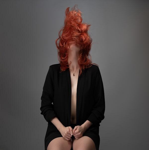 Flaming Red Hair Photography Art   Dan Katz, Inc.