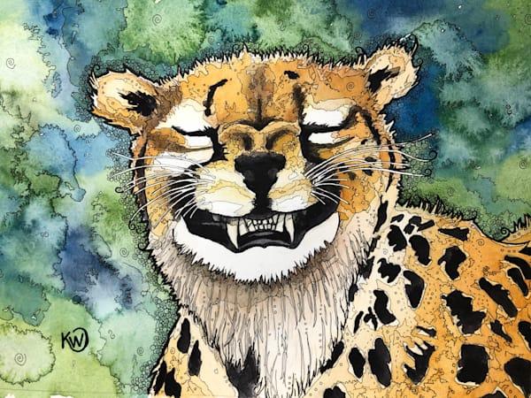 Grinning Cheetah