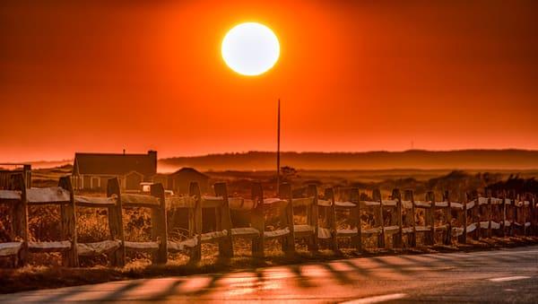 Atlantic Ave Sunset Photography Art | Michael Blanchard Inspirational Photography - Crossroads Gallery