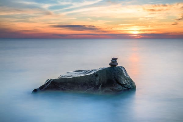 Moshup Stranded Cairn Art | Michael Blanchard Inspirational Photography - Crossroads Gallery