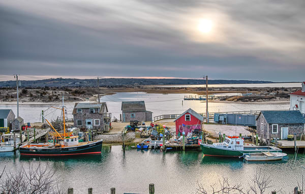 Menemsha Silver Sunset  Photography Art | Michael Blanchard Inspirational Photography - Crossroads Gallery