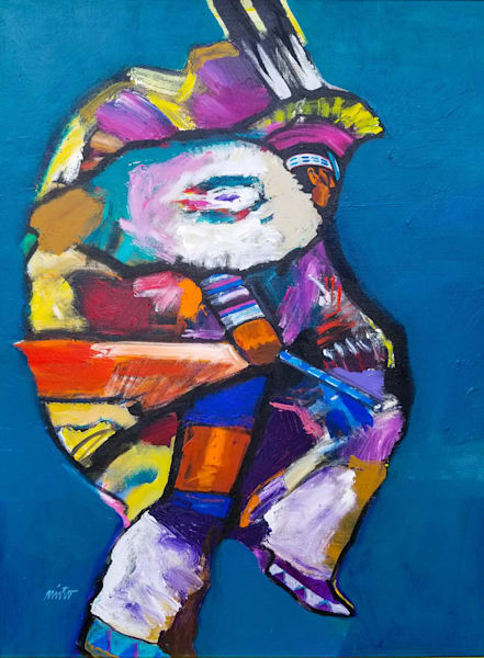 Fancy Dancer III | John Nieto Original Painting