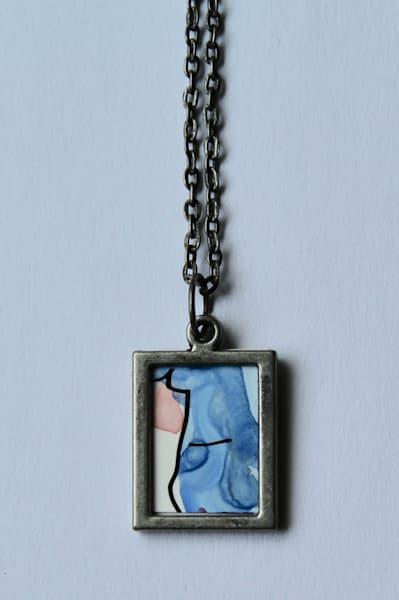 Cobalt Blue Pendant | Karen Bishop Artist