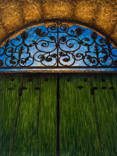 Portail Du Jardin À Ménerbes 2 Art | Fountainhead Gallery