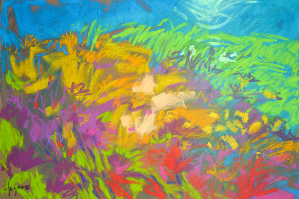 Wildflower Meadow Iv Art | Dorothy Fagan Joy's Garden