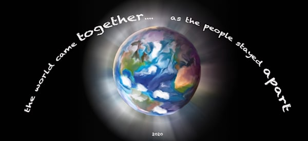 World Together (Small Metal Sign) Art | DARDISartgalleries