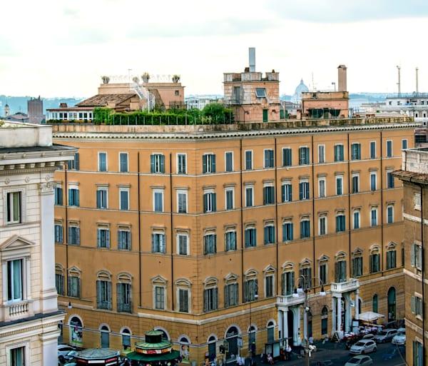 Piazza Di Santa Maria Maggiore Rooftop Wonders A Photography Art | Terri Bahun Fine Art Photography