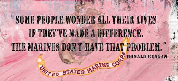 Marines (Small Metal Sign) Art | DARDISartgalleries