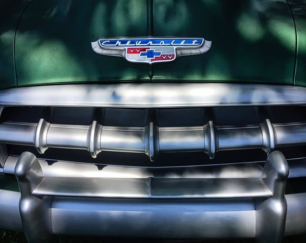 Vintage Chevy Front End