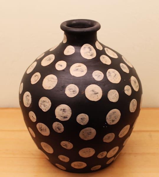 Polka Dot Bottle Pot Art   Madaras Gallery