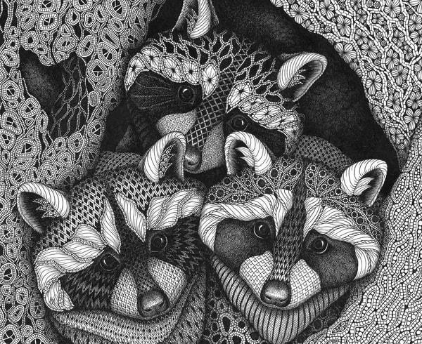 "Three Musketeers | Kristin Moger ""Seriously Fun Art"""