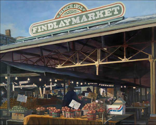 Findlay-Market Cincinnati painting
