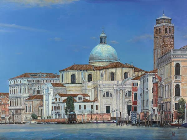 Venice painting by Holly Schapker.