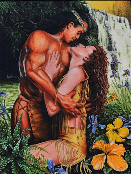 Waterfall (Original) Art   James Loveless Art