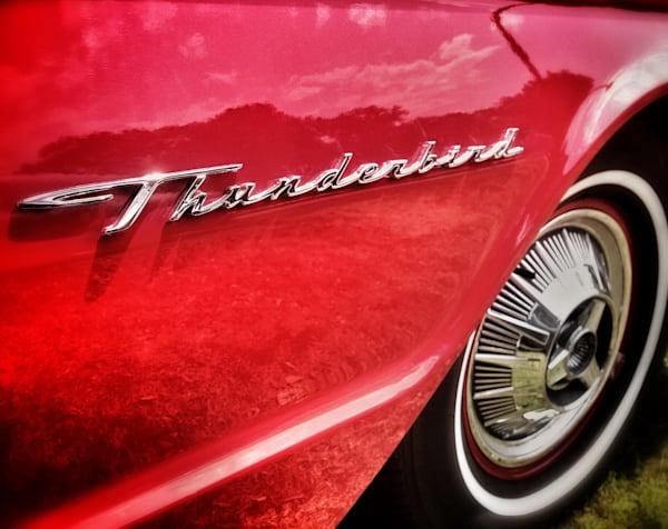 Cherry Red Thunderbird