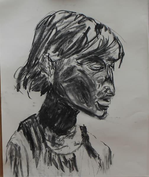 Tired Girl. Hot Night 2 Art   Howard Lawrence Fine Art