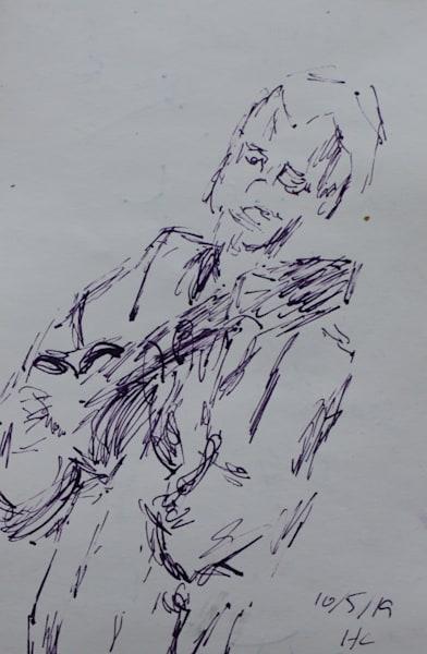 Jazz Guitar 2 2 Art   Howard Lawrence Fine Art