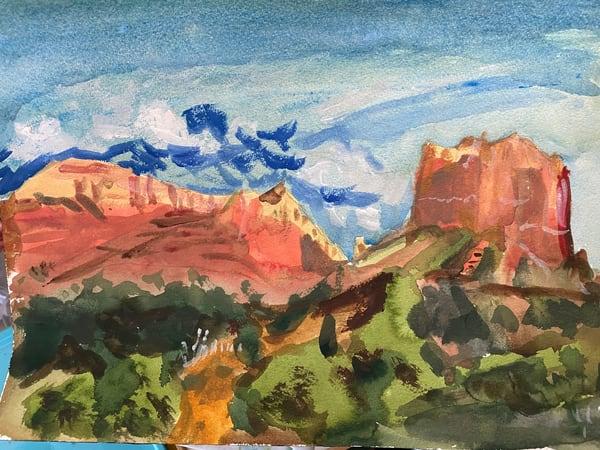 Sedona 1 Art | Howard Lawrence Fine Art
