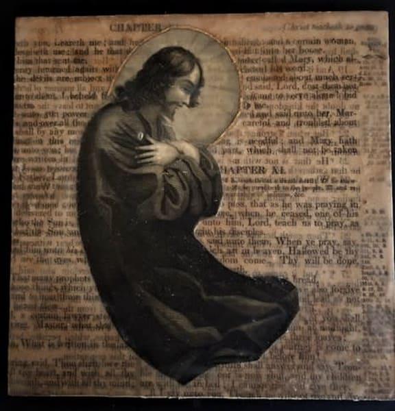 Jesus In Prayer Art | Sacred Structures