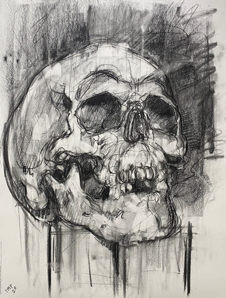 Skull V.1 Art | Matt Pierson Artworks