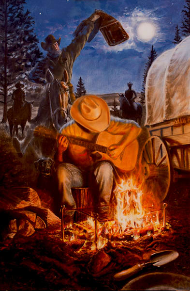 Sierra Victory 1851 (Original) Art | James Loveless Art