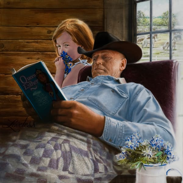 Story Time (Original) Art   James Loveless Art