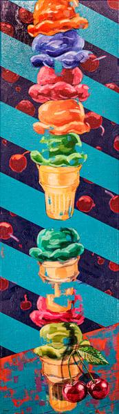 Ice Cream   Cherries  Art | Matt Pierson Artworks