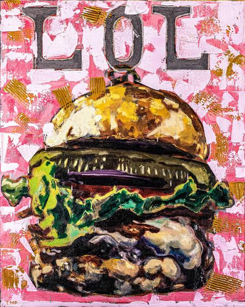 High Definition Lol Burger Art | Matt Pierson Artworks