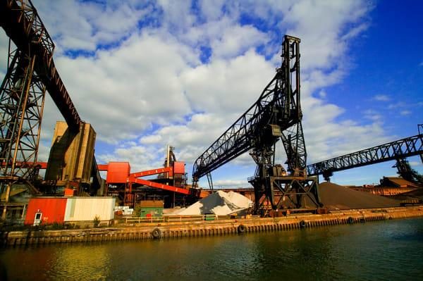 Soo Locks Industry Art | DocSaundersPhotography