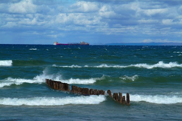 Whitefish Point   Freighter Lake Superior Art | DocSaundersPhotography