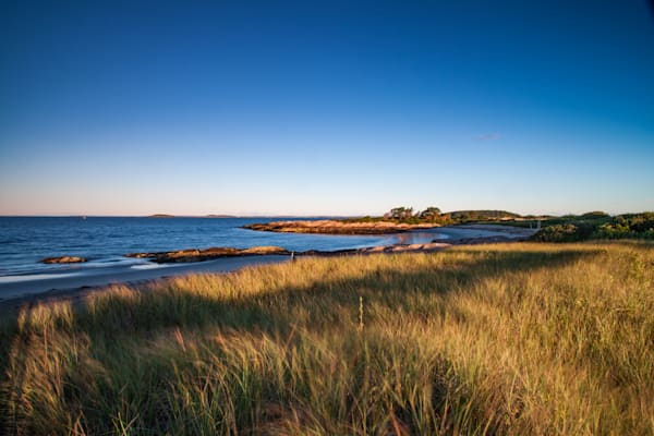 Maine coastal dune photograph. Fine art prints available.