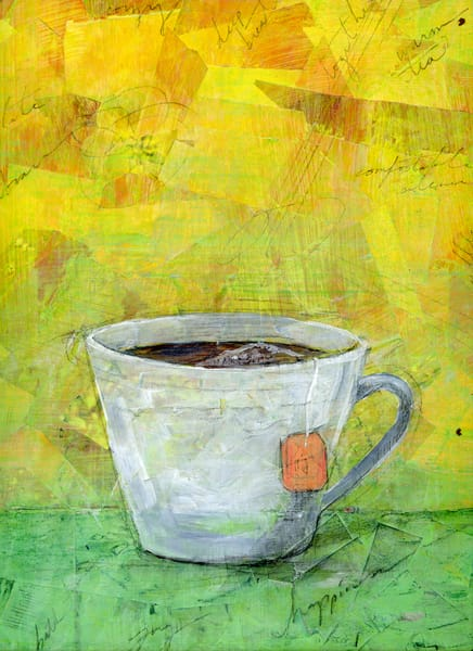 Cup Of Happiness Art | Jenny McGee Art
