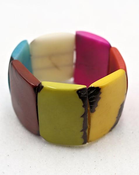Handmade Tagua Nut Jewelry Bracelet