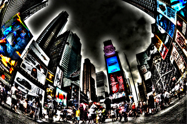 Times Square 15 Photography Art | mikelindwasserphotography
