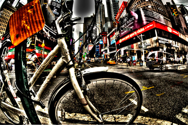 Times Square 13 Photography Art | mikelindwasserphotography