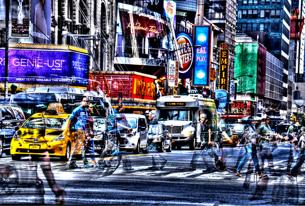 Times Square 28 Photography Art | mikelindwasserphotography