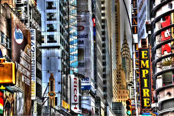 Times Square 41 Photography Art | mikelindwasserphotography
