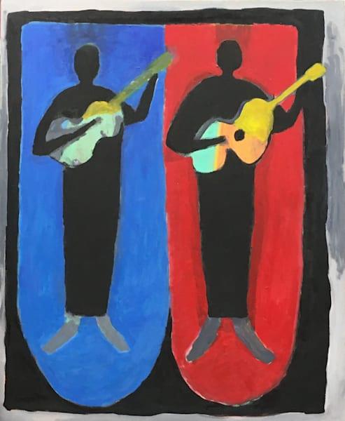 Two Guitars Art | stephengerstman