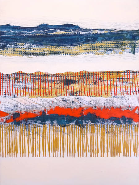Hinterland - Original Abstract Painting | Cynthia Coldren Fine Art