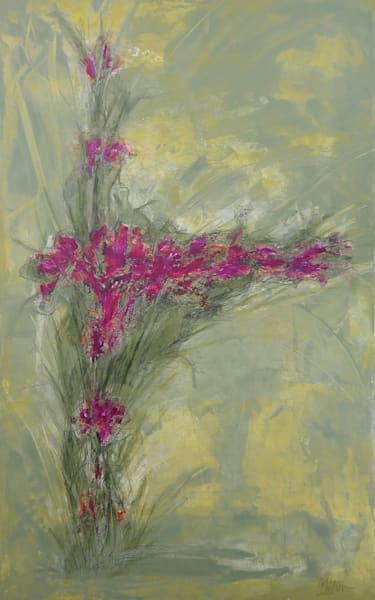 Blooms - Original Abstract Painting | Cynthia Coldren Fine Art