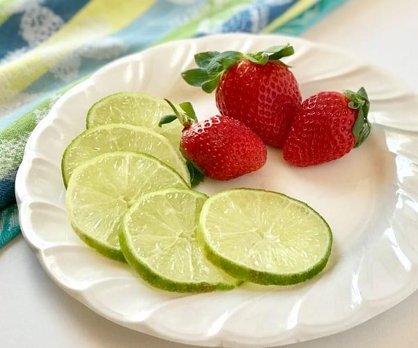 Strawberries & Limes Art | Jenifer Cady Photography